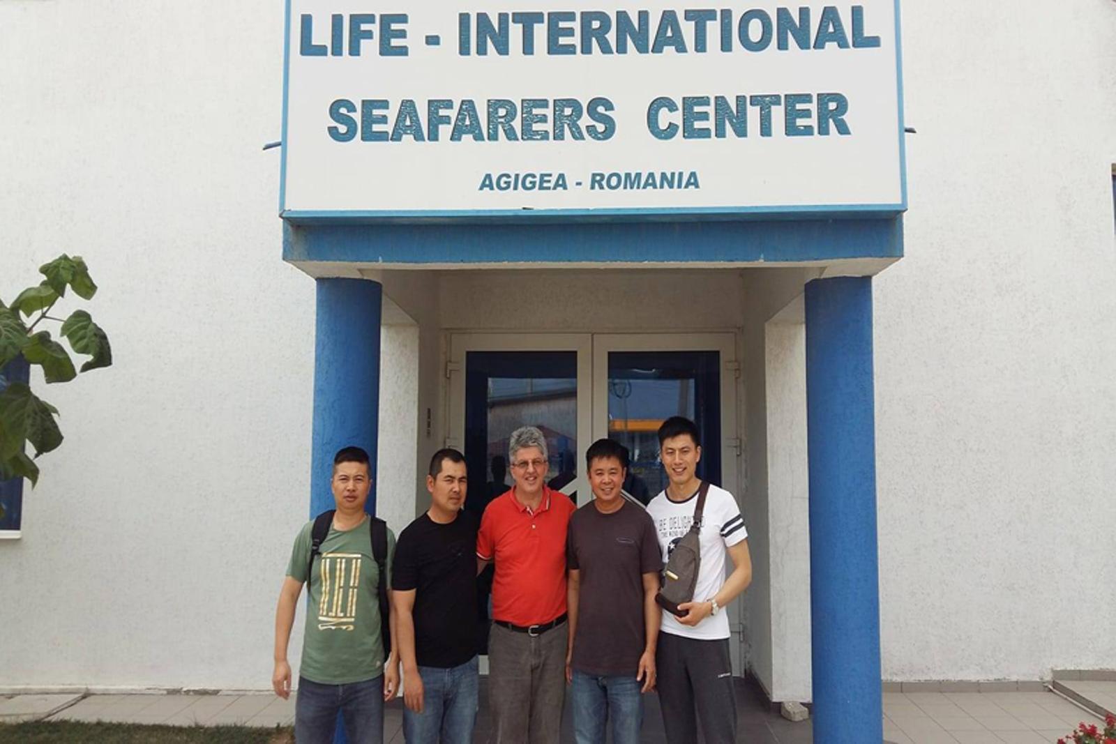 Seafarers' Center Agigea