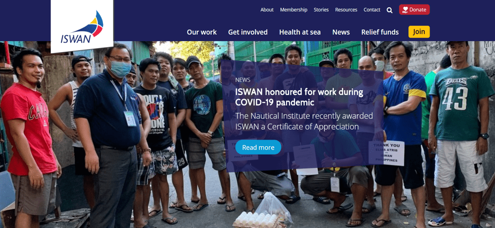 ISWAN (International Seafarers Welfare and Assistance Network)