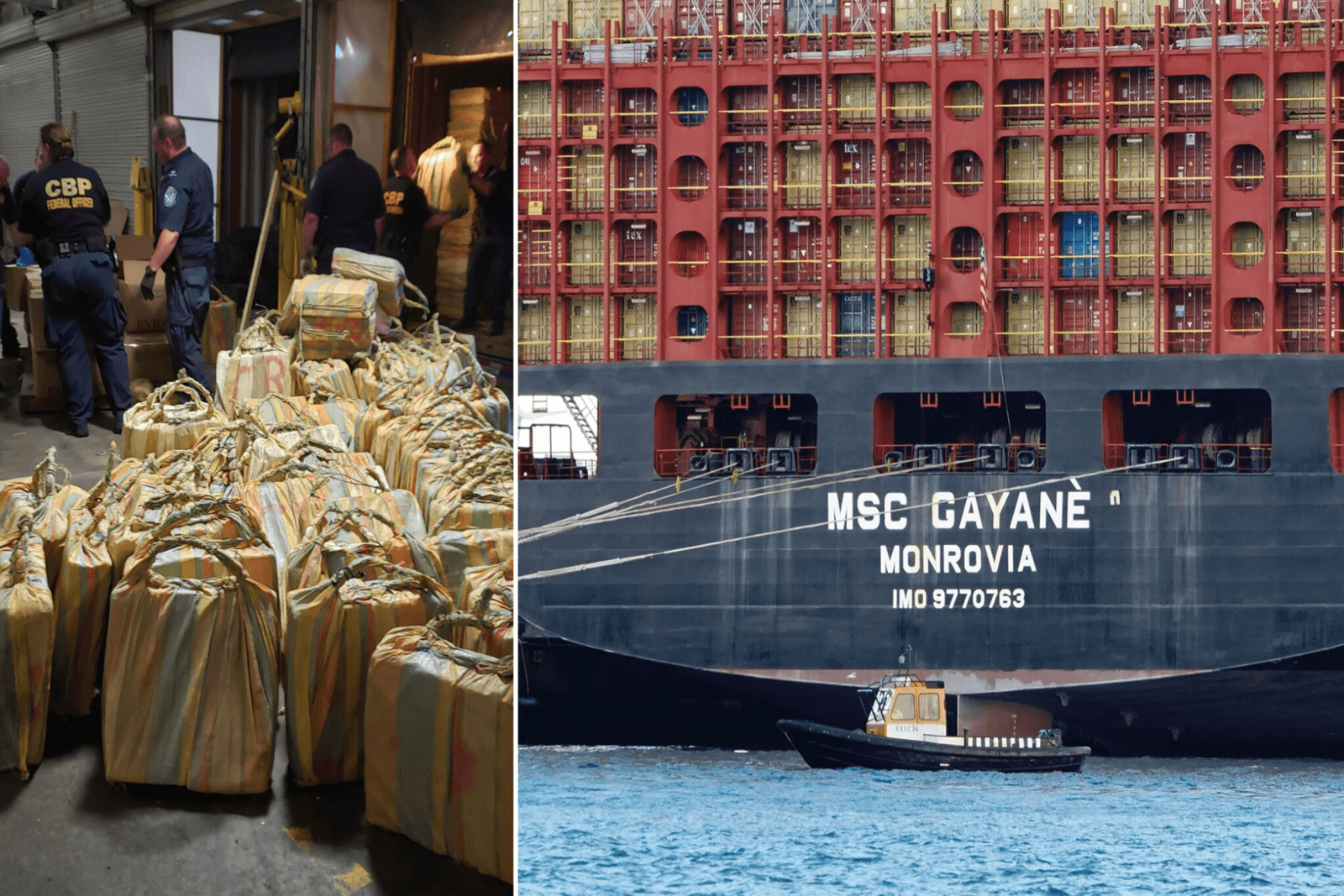 How shipping giant MSC reacted to billion-dollar cocaine bust