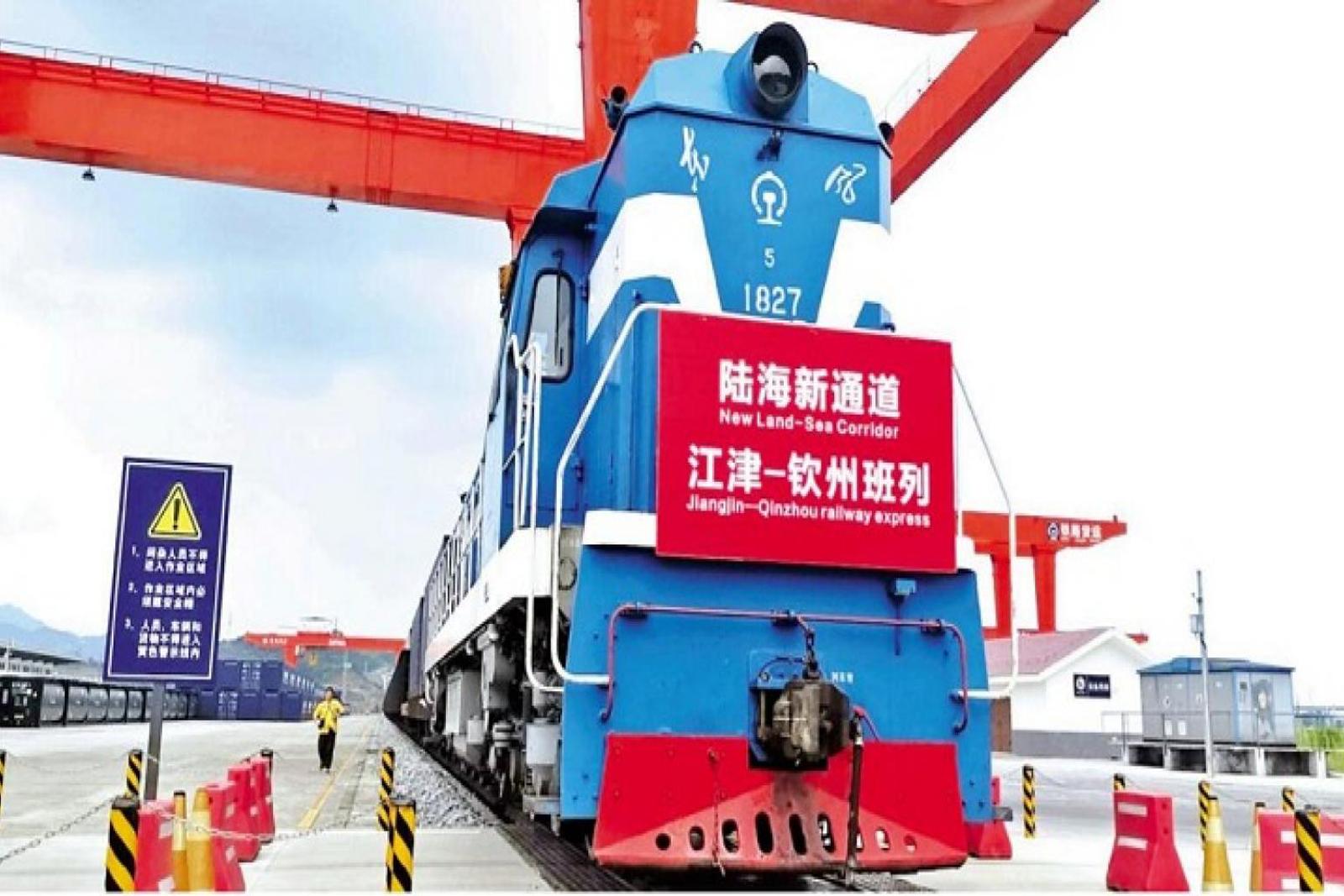 China's west international land-sea trade corridor destinations expand