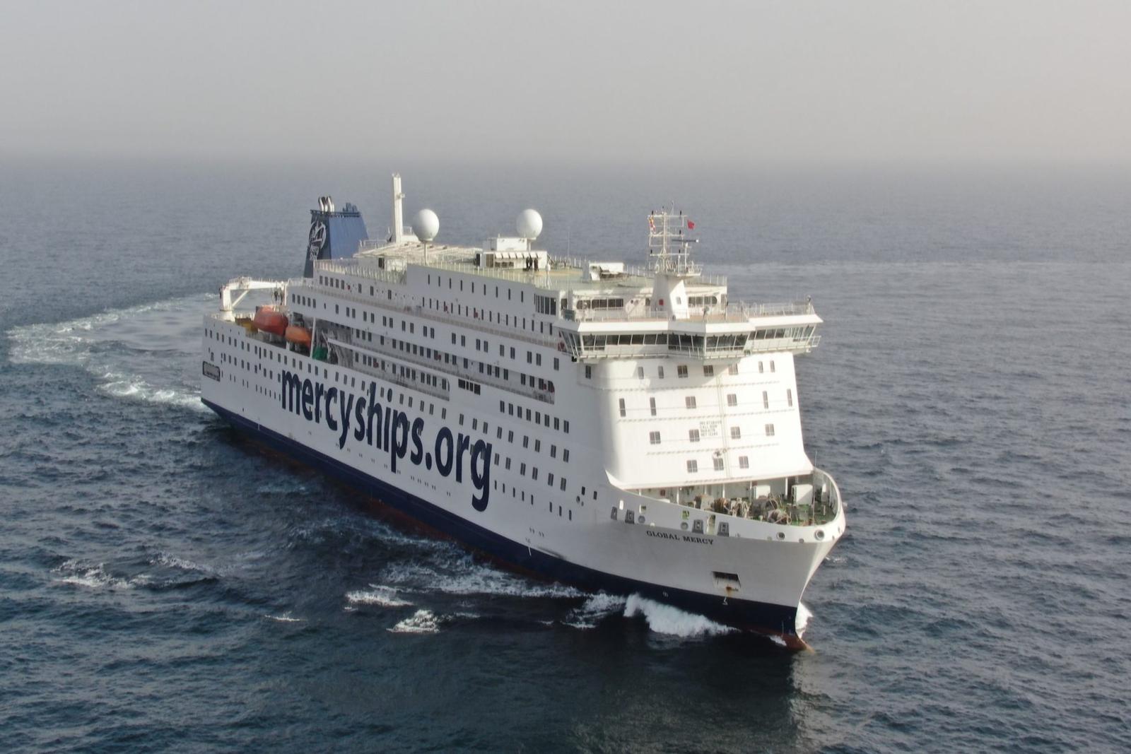 World's Largest Civilian Hospital Ship Passes Sea Trials