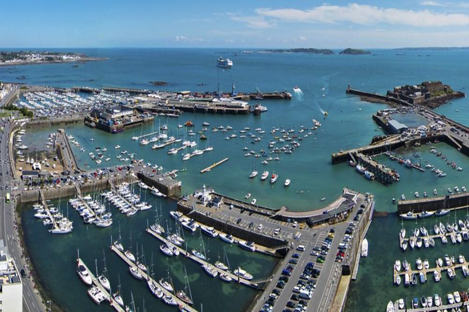 New commercial port to be built on Guernsey Island UK