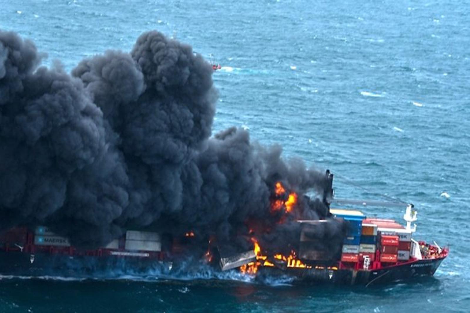 Explosion rocks X-Press Pearl, all crew evacuated as Sri Lanka prepares for the worst