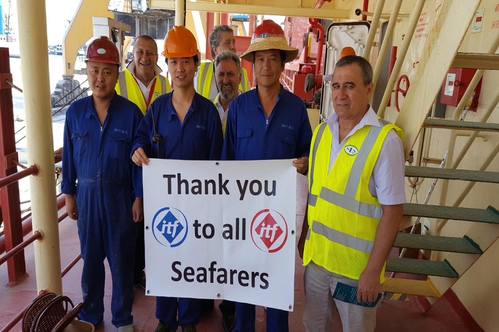 Seafarers celebrated their day at Seamen's Club